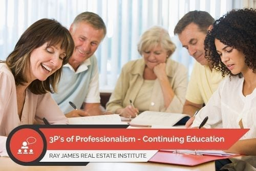 3P's of Professionalism - Continuing Education